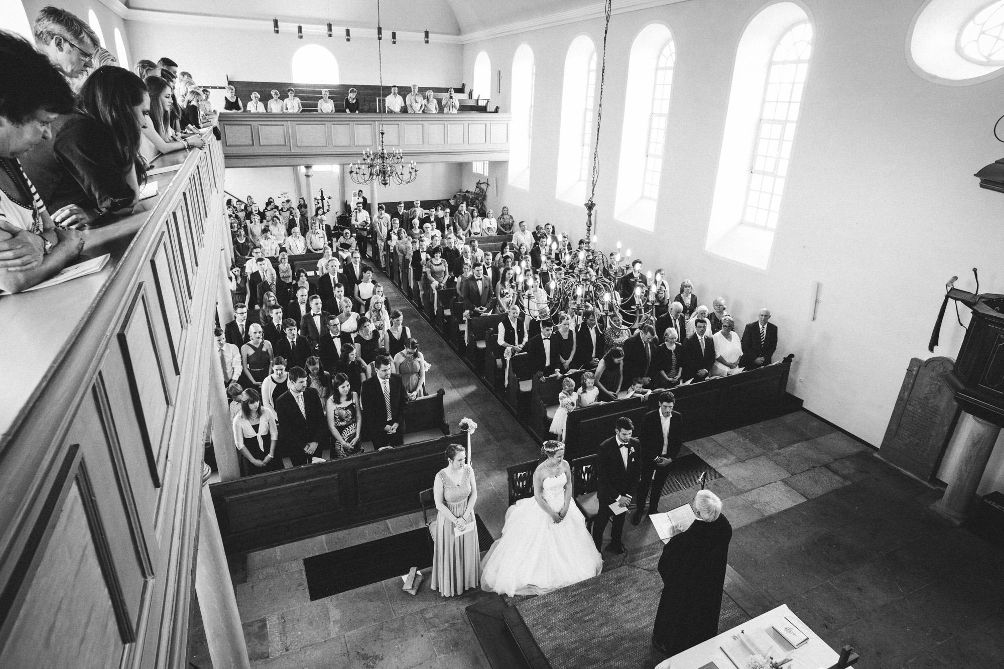 hannah und elias 028 - Schwarz-Weiß Hochzeit
