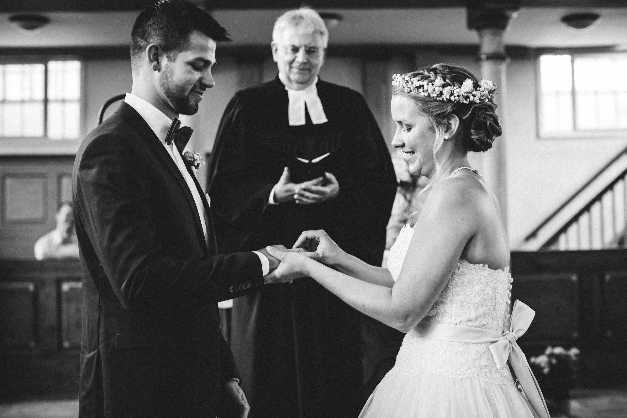 hannah und elias 086 - Schwarz-Weiß Hochzeit