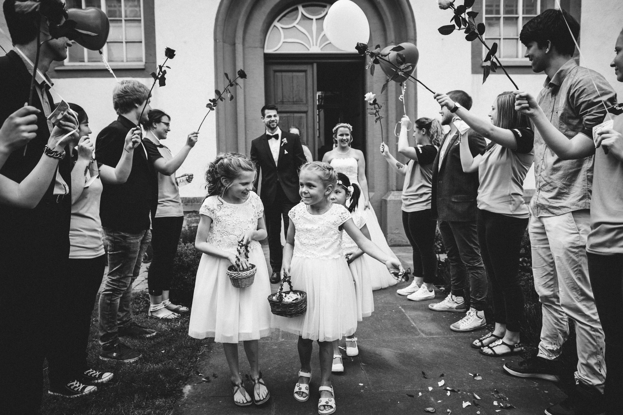 hannah und elias 113 - Schwarz-Weiß Hochzeit