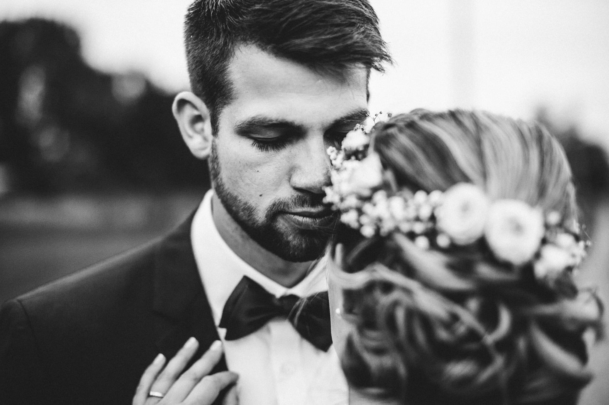 hannah und elias 528 - Schwarz-Weiß Hochzeit
