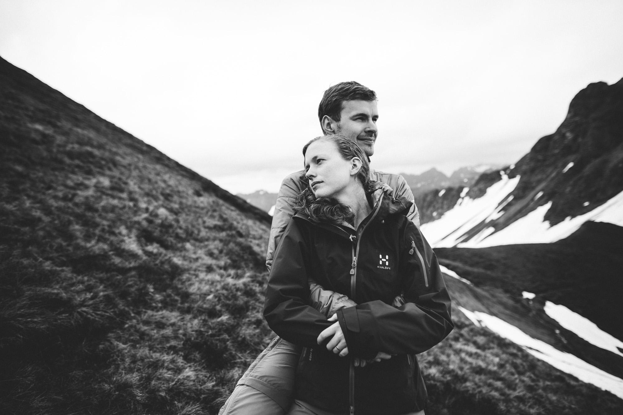 svea und keve 028 - Nur zu zweit in den Bergen