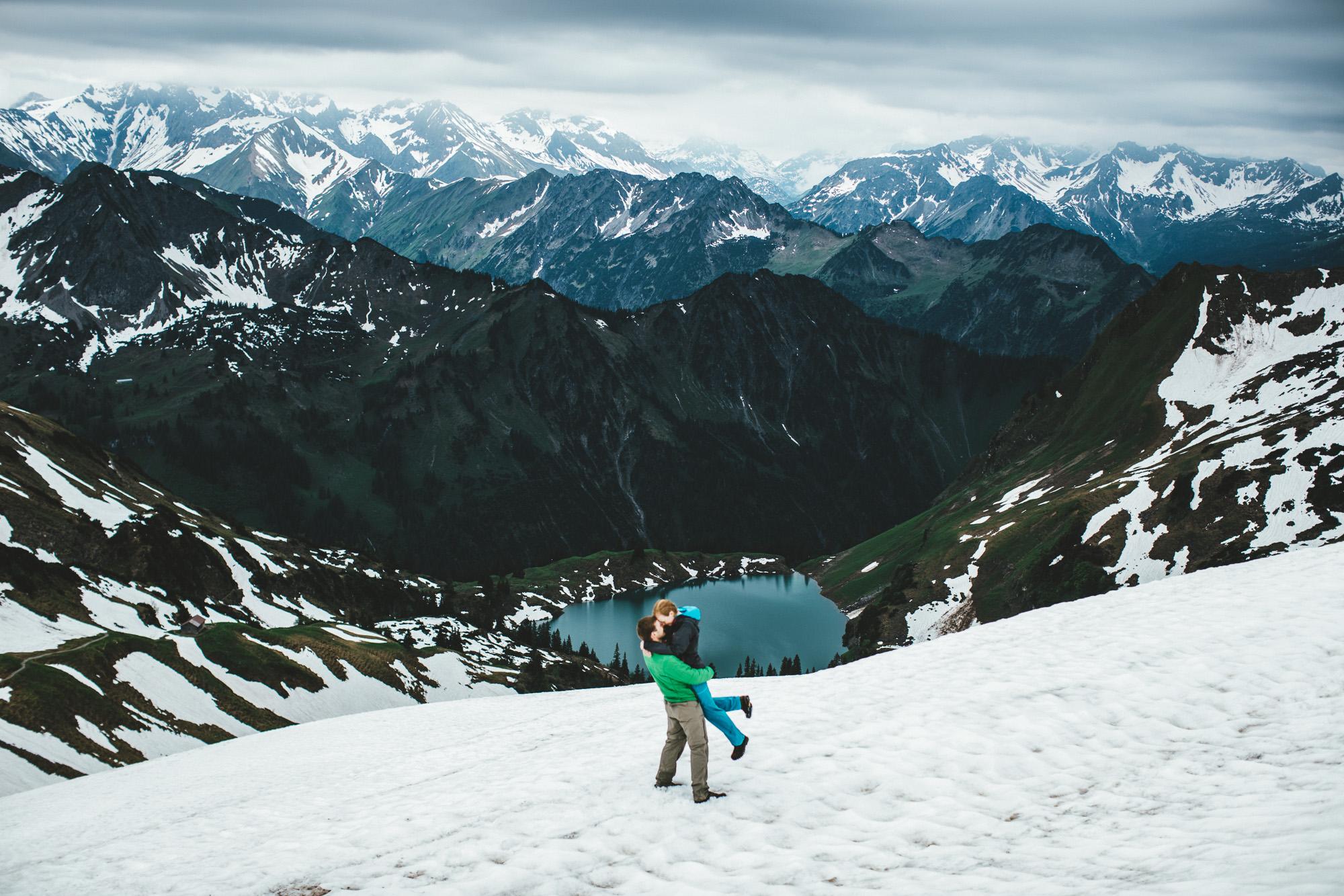 svea und keve 033 - Nur zu zweit in den Bergen