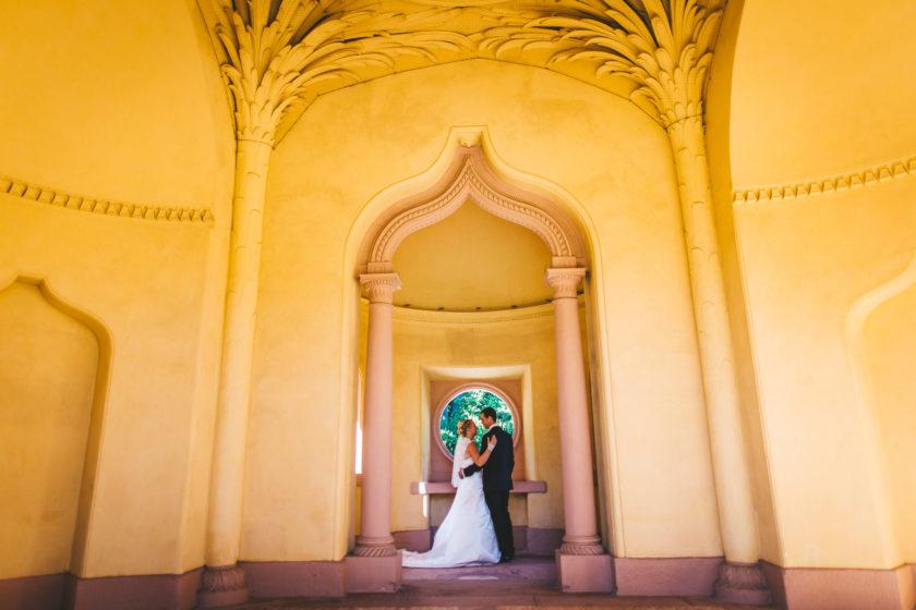 Hochzeitsfotos im Schwetzinger Schlossgarten
