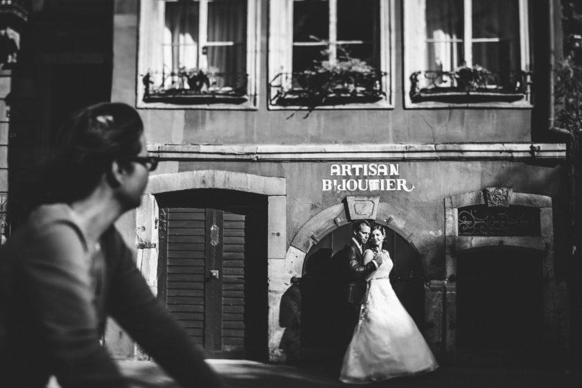 Hochzeitsreportage von Nicole und Marco aus Speyer mit anschliessendem Afterweddingshoot in Straßburg
