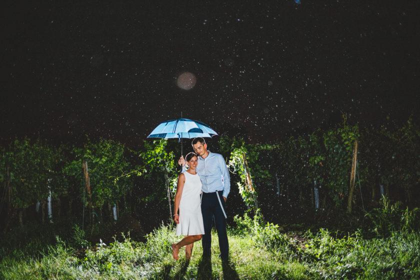 Hochzeitsfotos bei Regen in Deidesheim