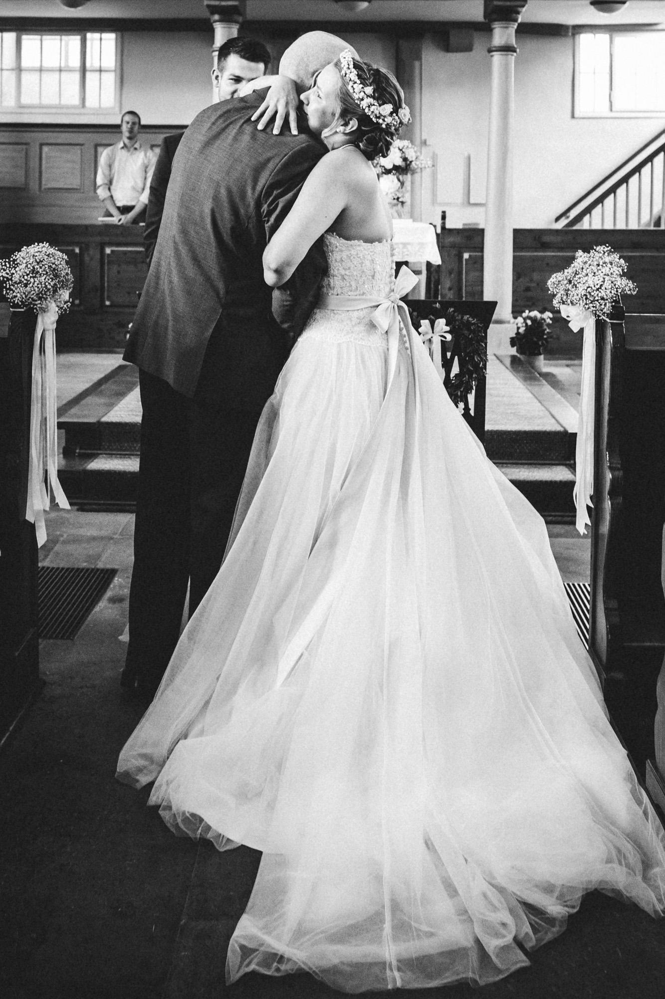 hannah und elias 017 - Schwarz-Weiß Hochzeit