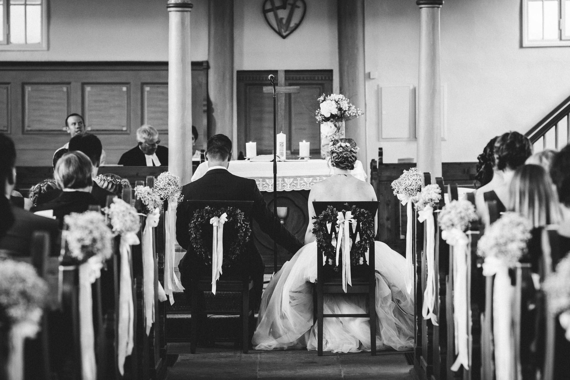 hannah und elias 025 - Schwarz-Weiß Hochzeit