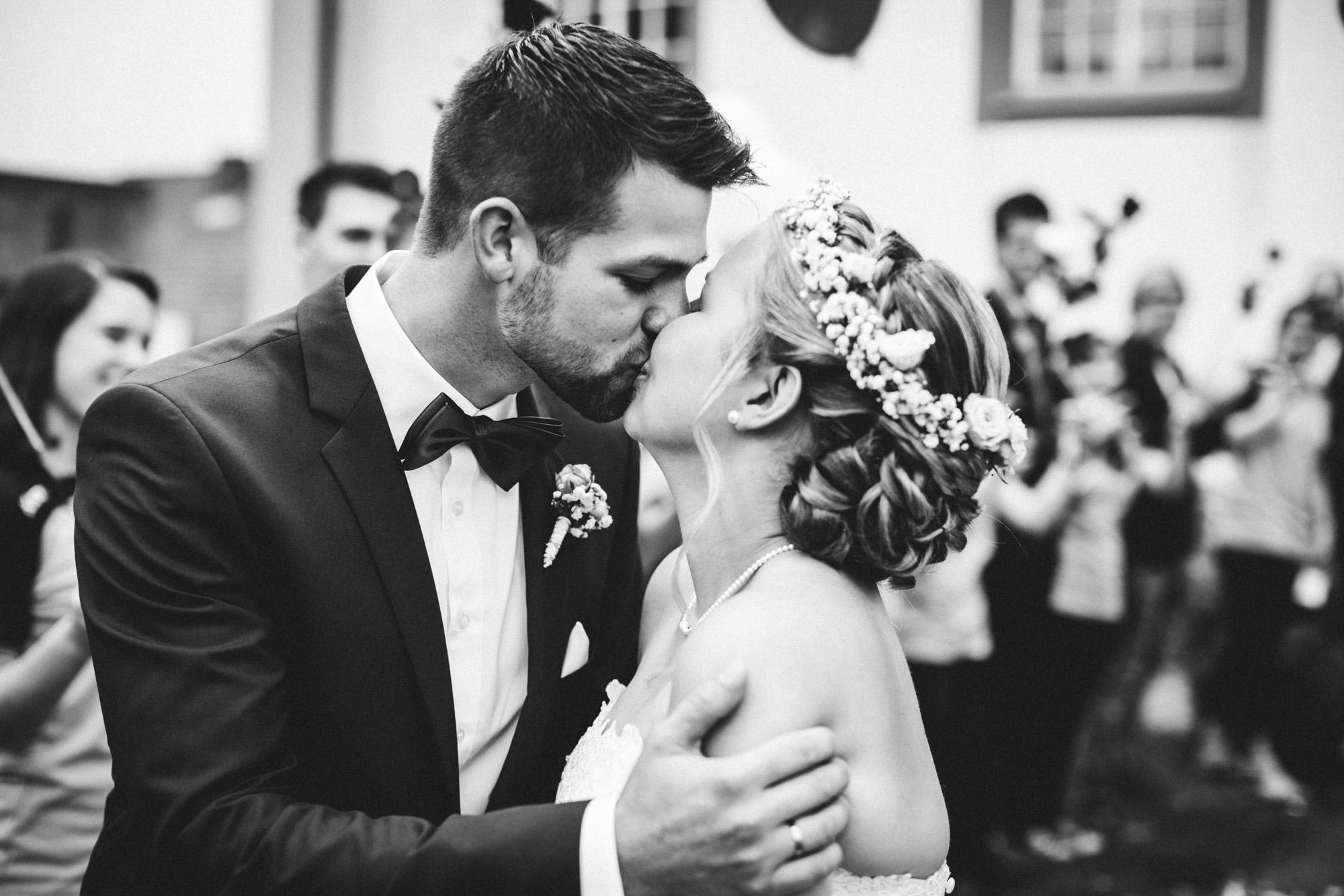hannah und elias 120 - Schwarz-Weiß Hochzeit