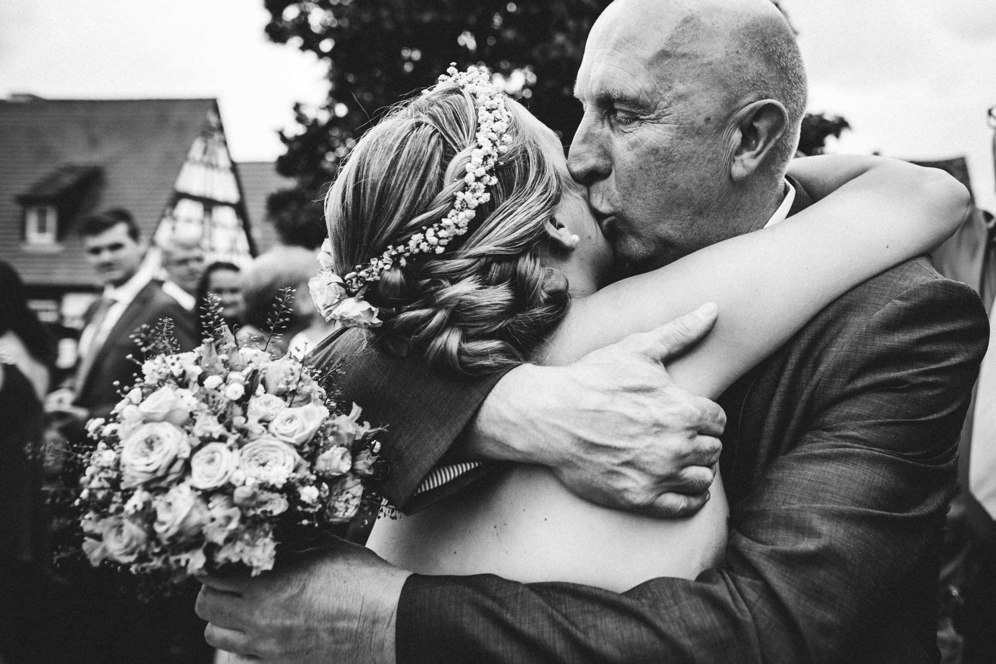 hannah und elias 325 - Schwarz-Weiß Hochzeit
