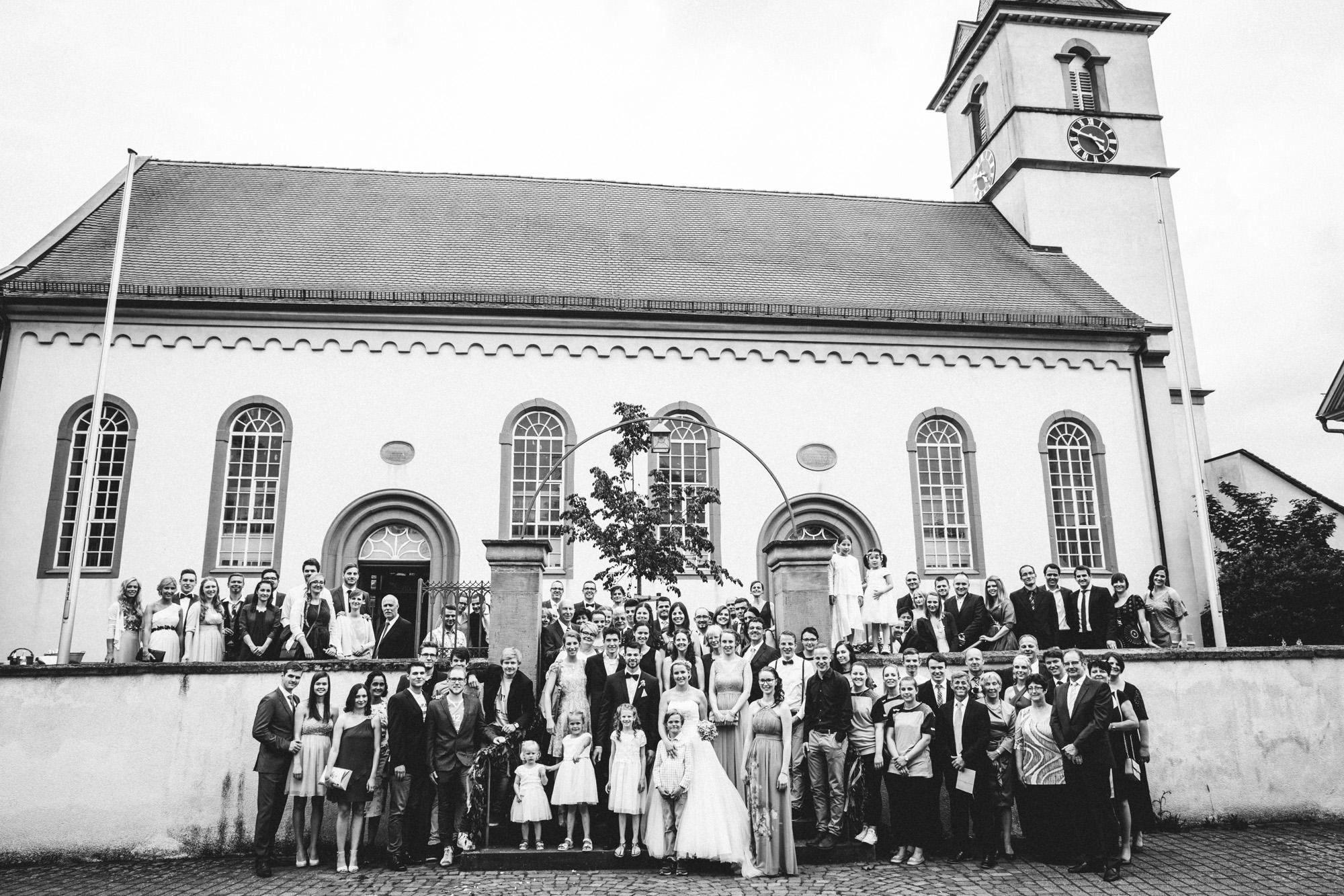 hannah und elias 329 - Schwarz-Weiß Hochzeit
