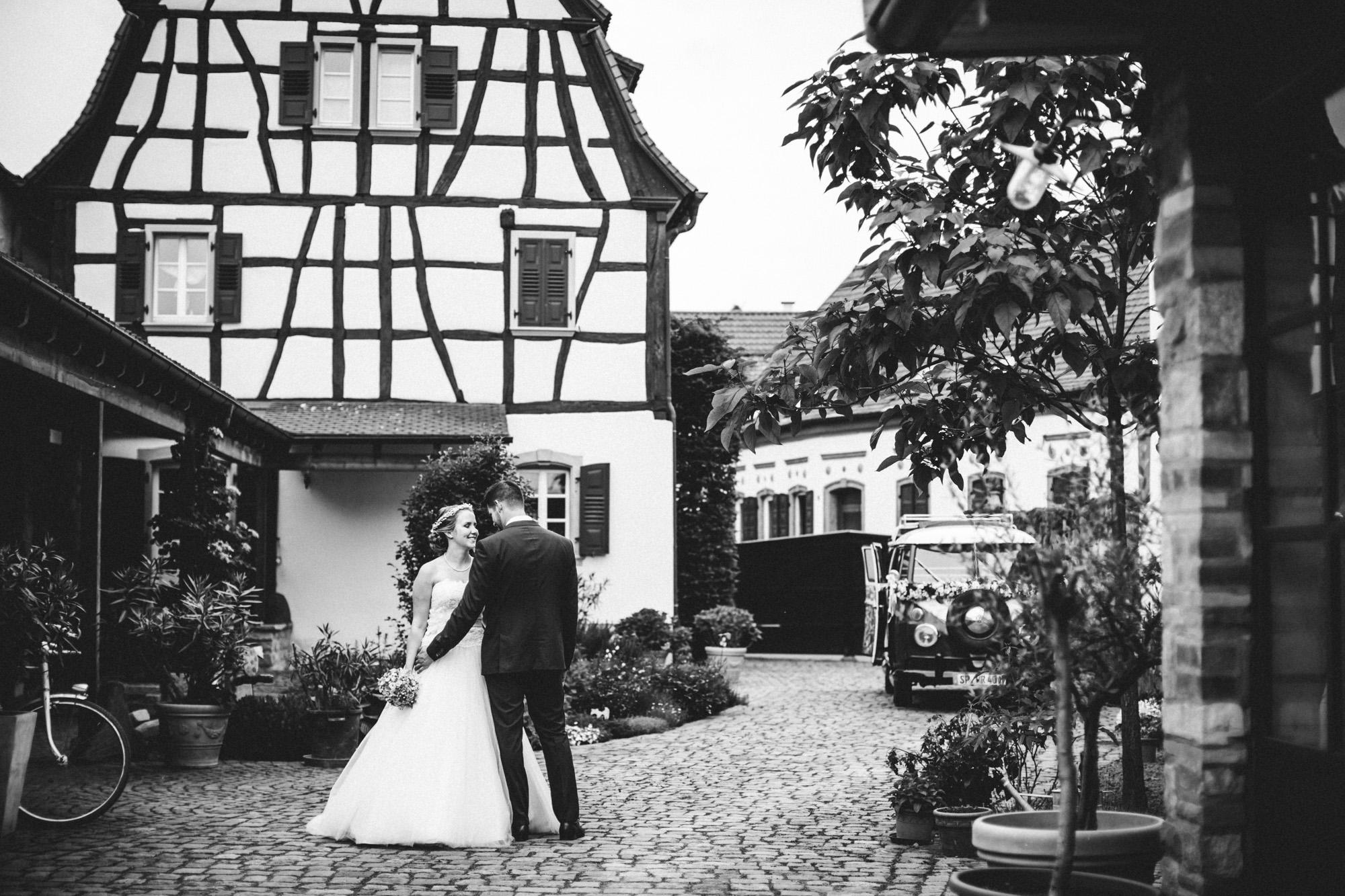 hannah und elias 337 - Schwarz-Weiß Hochzeit