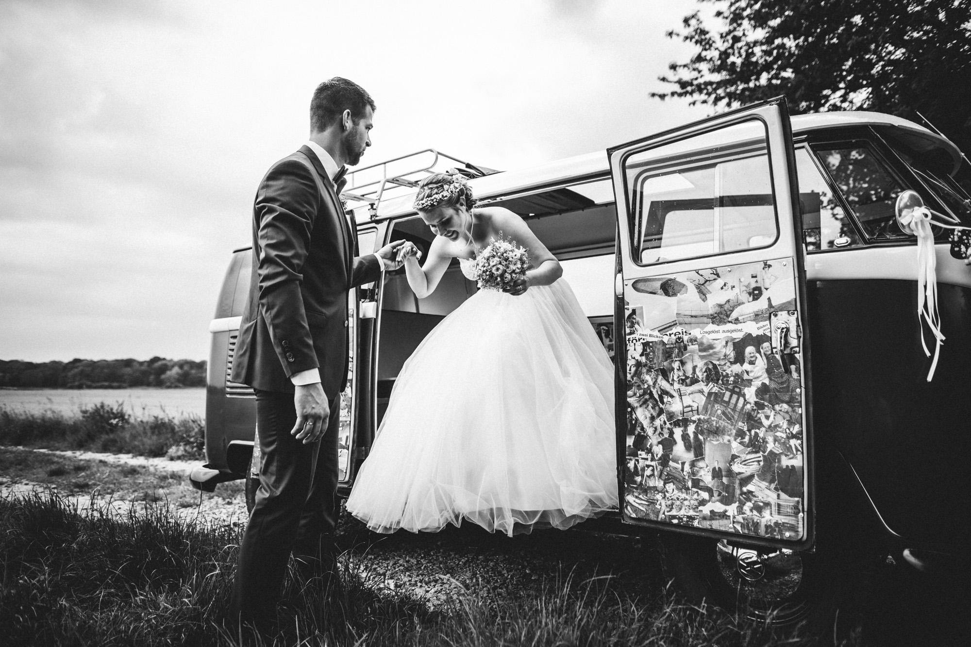 hannah und elias 364 - Schwarz-Weiß Hochzeit
