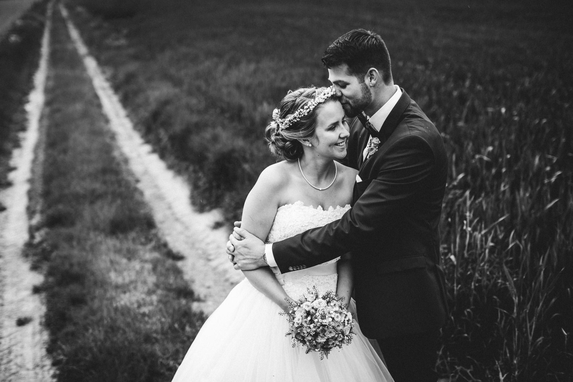 hannah und elias 384 - Schwarz-Weiß Hochzeit