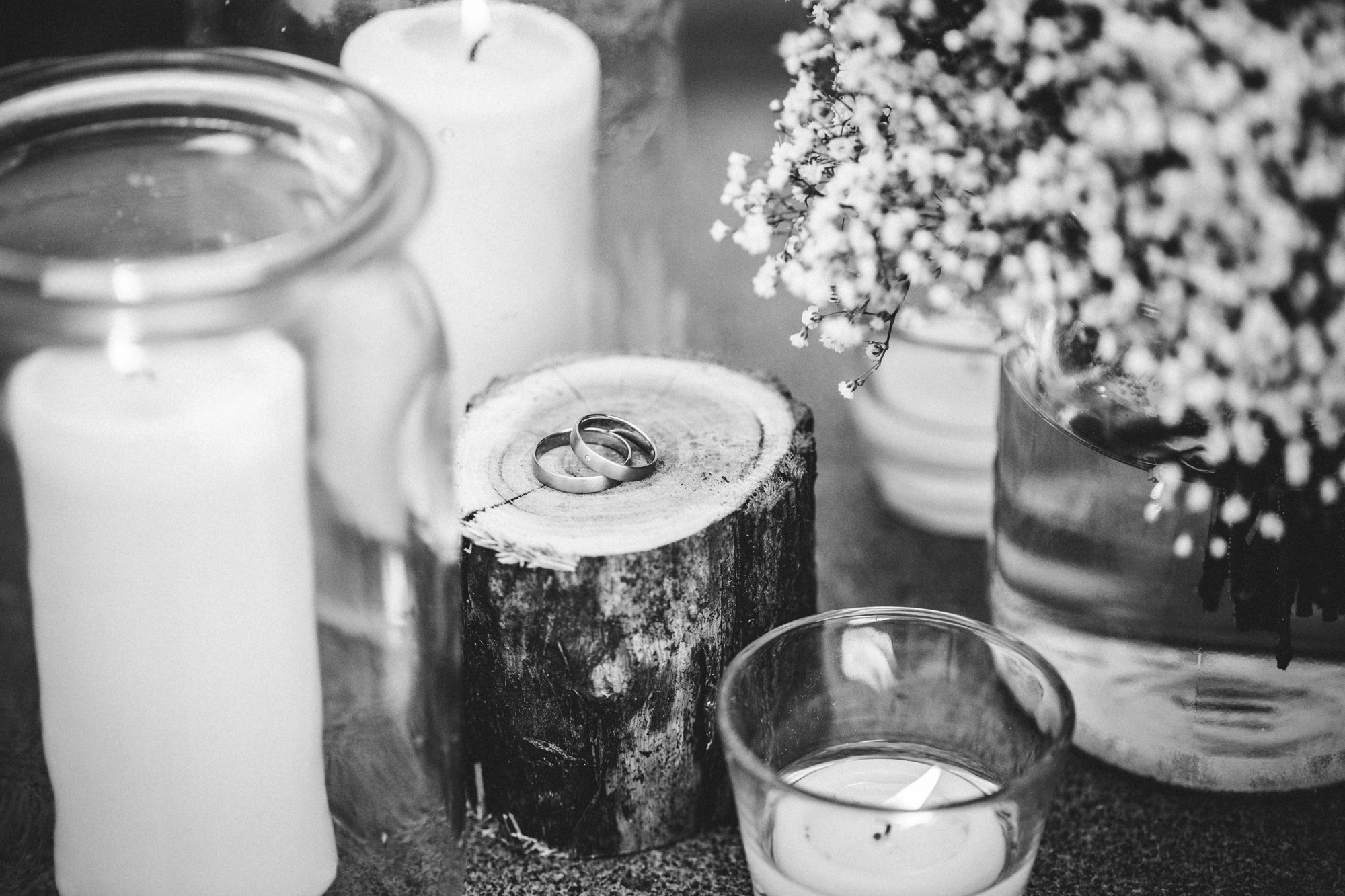 hannah und elias 473 - Schwarz-Weiß Hochzeit