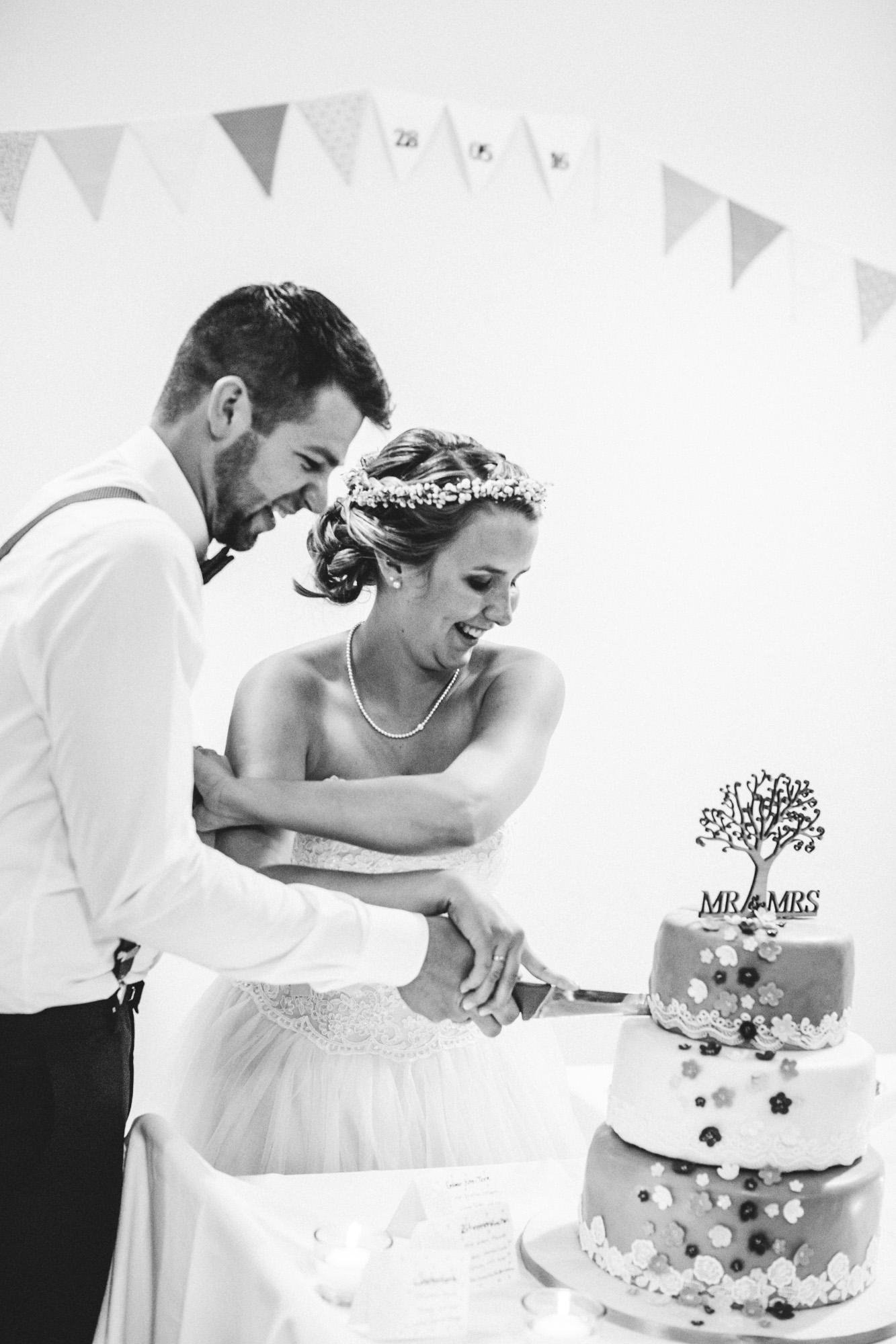 hannah und elias 595 - Schwarz-Weiß Hochzeit