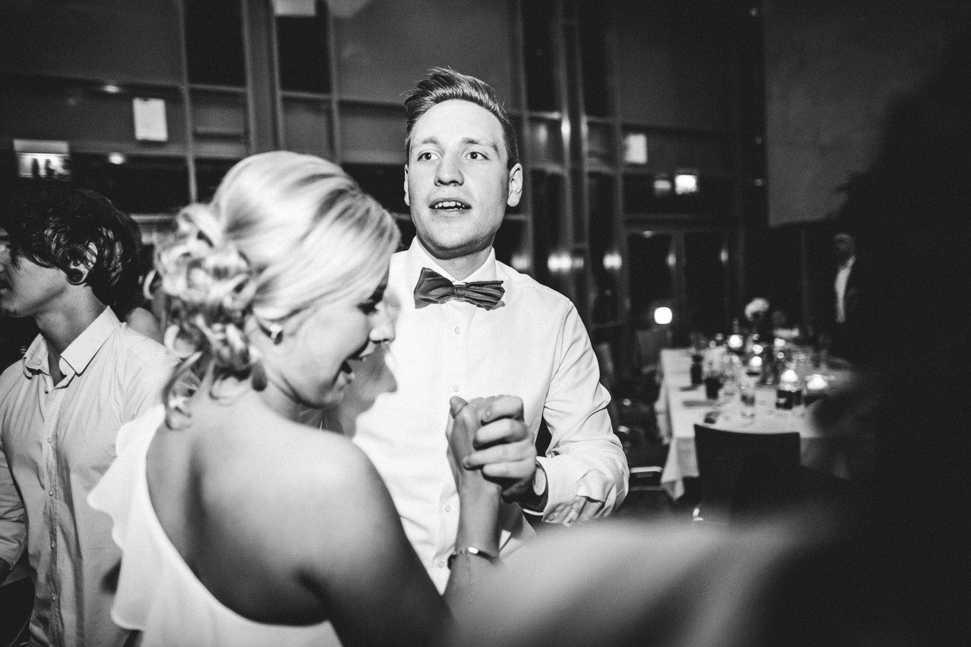 hannah und elias 683 - Schwarz-Weiß Hochzeit