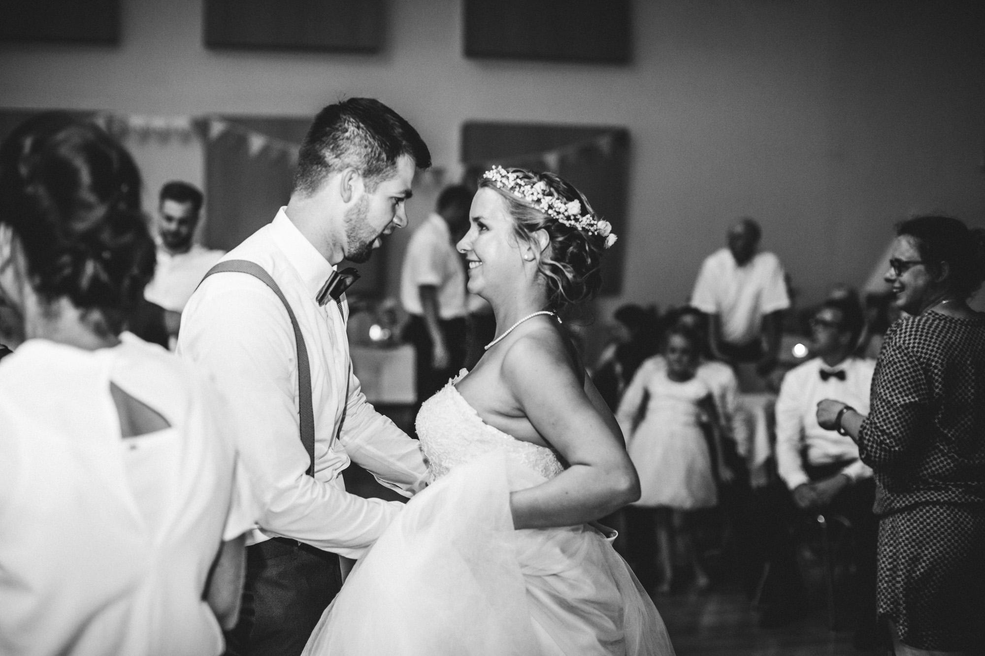hannah und elias 697 - Schwarz-Weiß Hochzeit