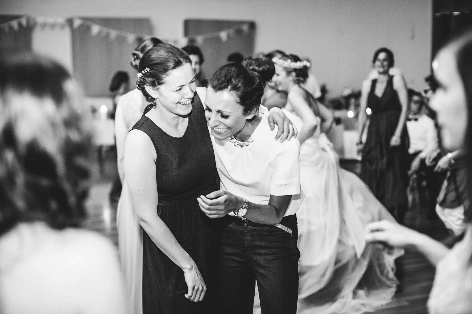 hannah und elias 698 - Schwarz-Weiß Hochzeit