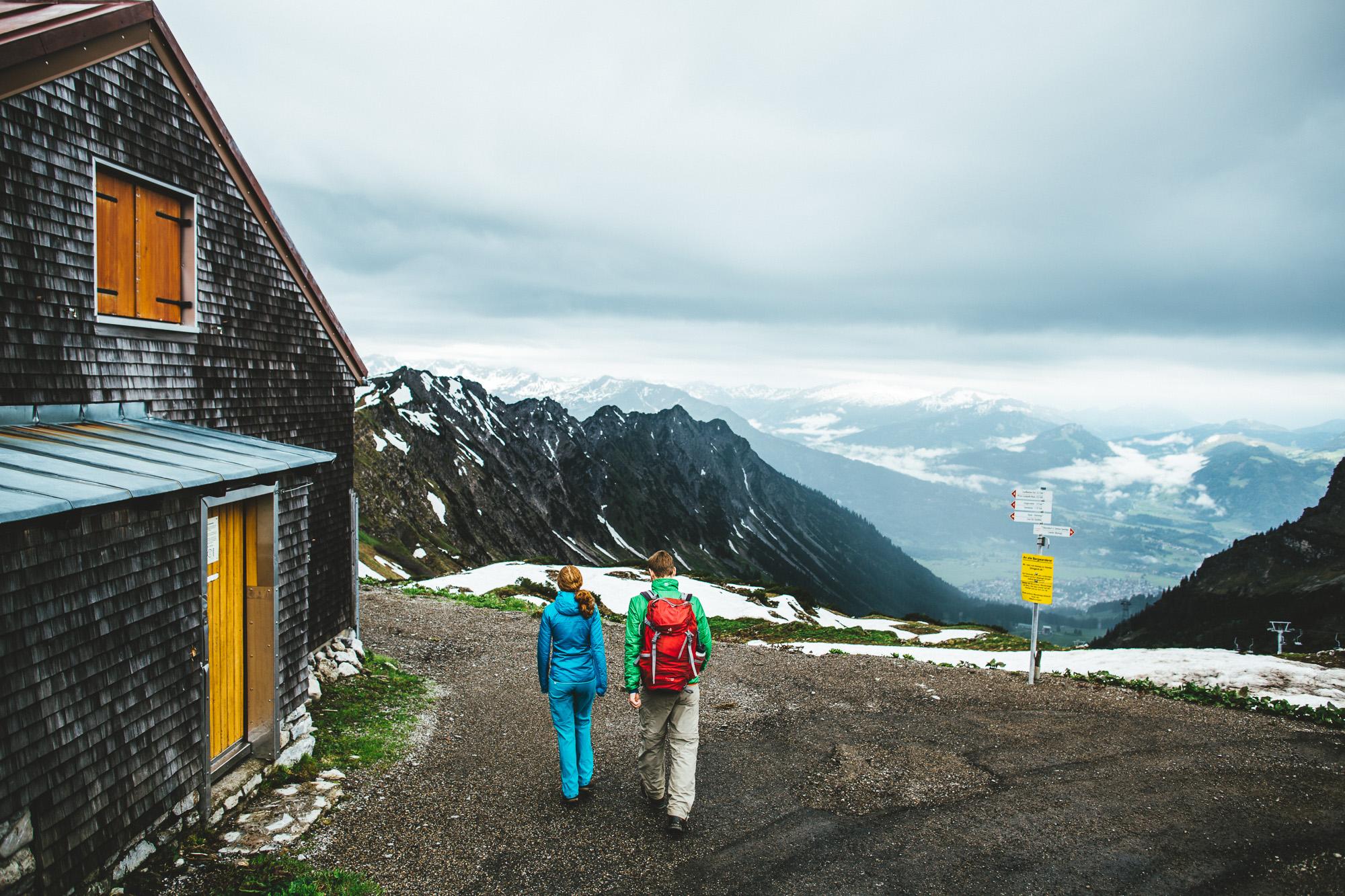 svea und keve 002 - Nur zu zweit in den Bergen