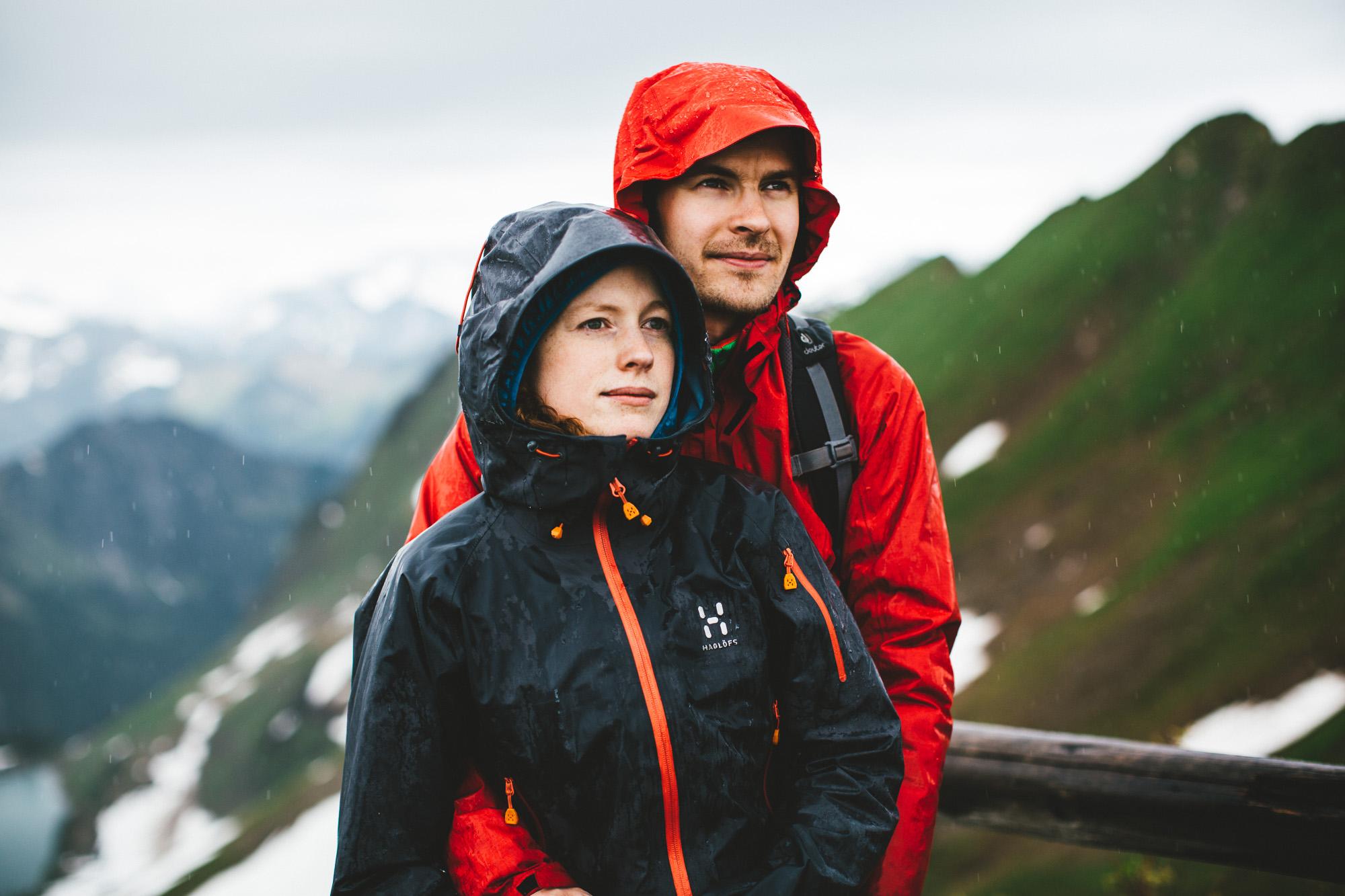 svea und keve 009 - Nur zu zweit in den Bergen