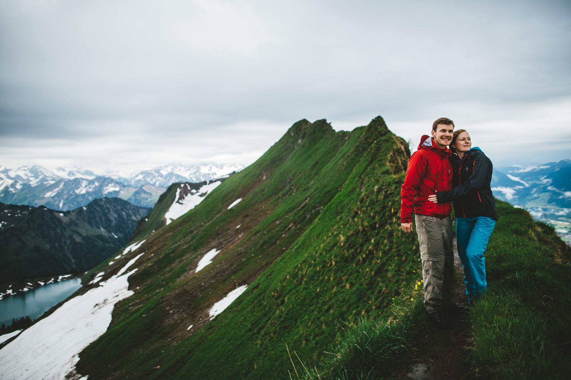 svea und keve 014 - Nur zu zweit in den Bergen