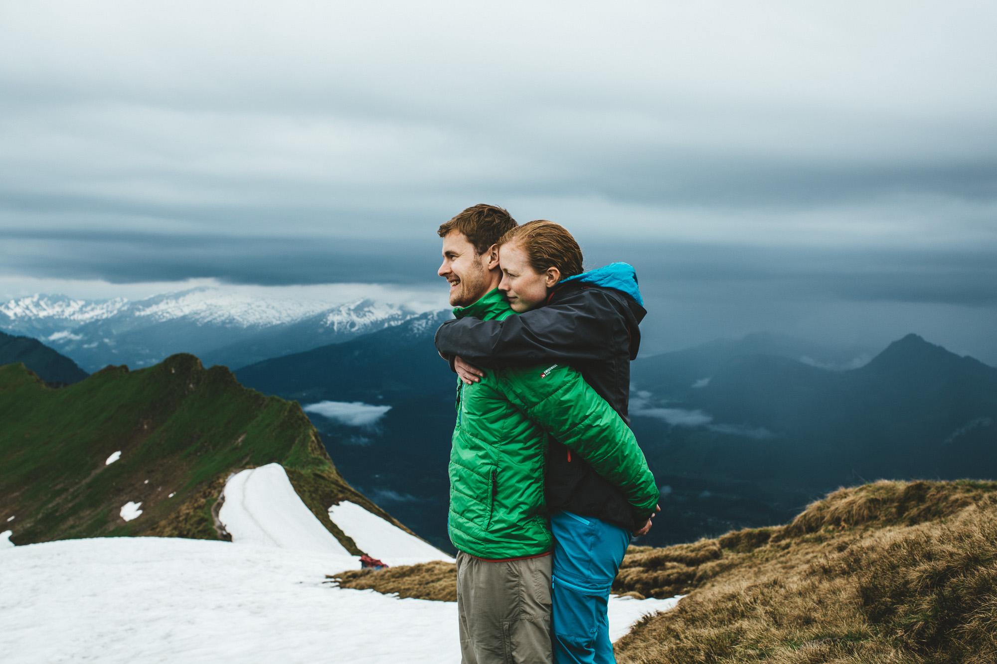 svea und keve 023 - Nur zu zweit in den Bergen
